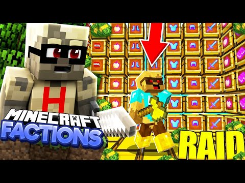 *THE RICHEST RAID EVER*!!Minecraft PE Factions Server-[MCPE 1.14.0+ FACTIONS]