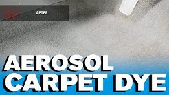 How to Carpet Dye - Aerosol Dye