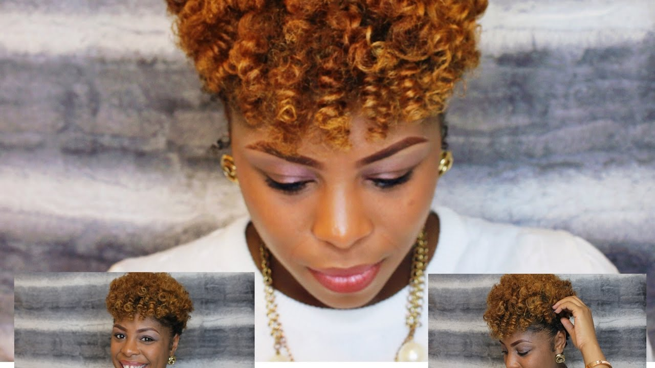 How to | Bantu Knot Tutorial on Natural Hair | Styling Tapered Cut