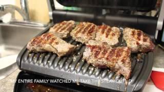 T-fal OptiGrill Review - Cooking Steak, Sablefish and Pork || Gastrofork.ca