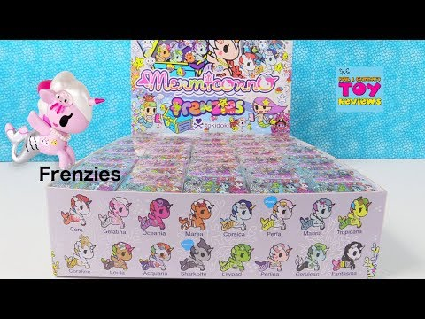 Tokidoki Mermicorno Frenzies Full Box Opening Review | PSToyReviews