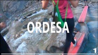 VIAJE A ORDESA (1) - Trayecto en coche, bocadillo en Calamocha, paseíto por Broto y Torla...