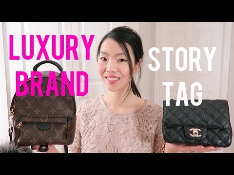 LUXURY BRAND STORY TAG ft  Louis Vuitton & Chanel | FashionablyAMY