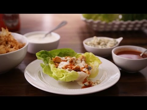 How to Make Slow Cooker Buffalo Chicken Lettuce Wraps | Chicken Recipes | Allrecipes.com