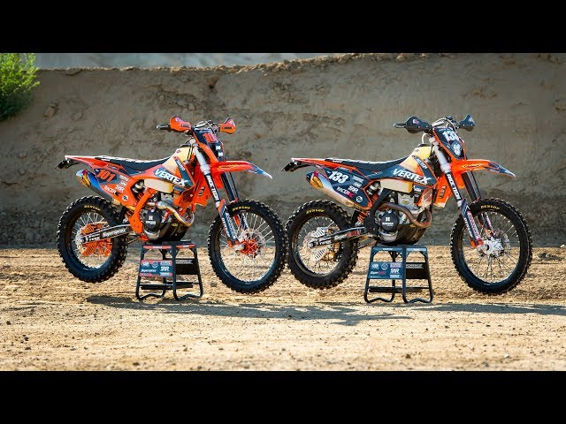 2017 and 2019 KTM 350 EXC-F Bike Builds | Racer X Films