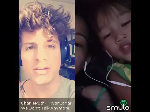 We dont talk anymore (Smule) with Charlie Puth