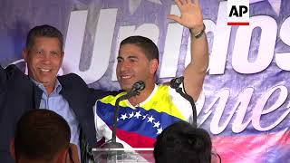 Venezuelan candidate backs another opposition candidate