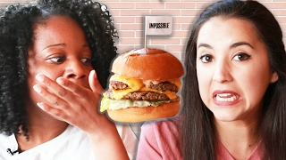 "We Tried The ""Impossible"" Meatless Burger"