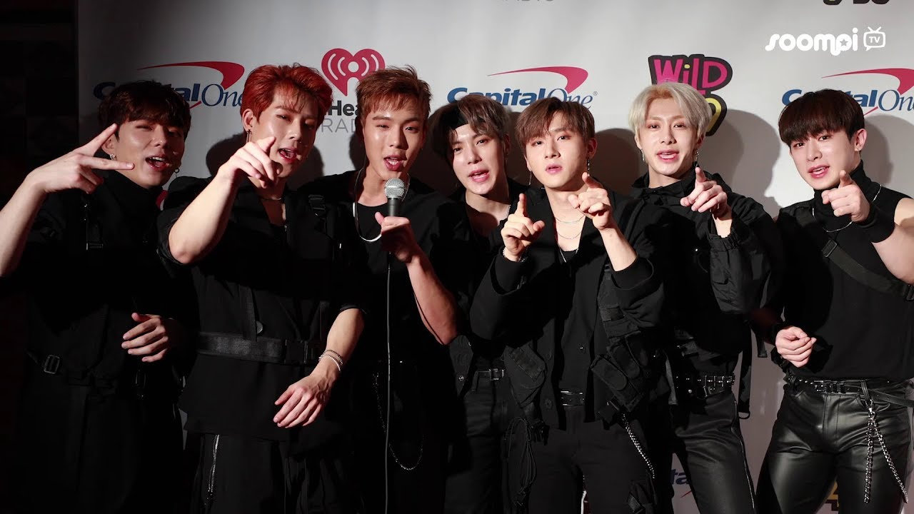 """MONSTA X On Jingle Ball Tour: """"At First They Were Fascinated, Then They  Started Cheering"""" - YouTube"""