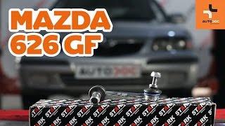 Jak wymienić Drążek wspornik stabilizator MAZDA 626 V (GF) - darmowe wideo online