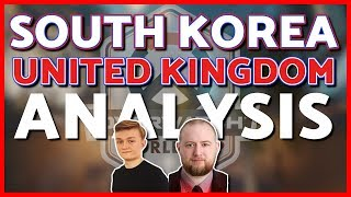 Jayne Reviews South Korea vs United Kingdom (ft. Fusions) | Overwatch World Cup 2018