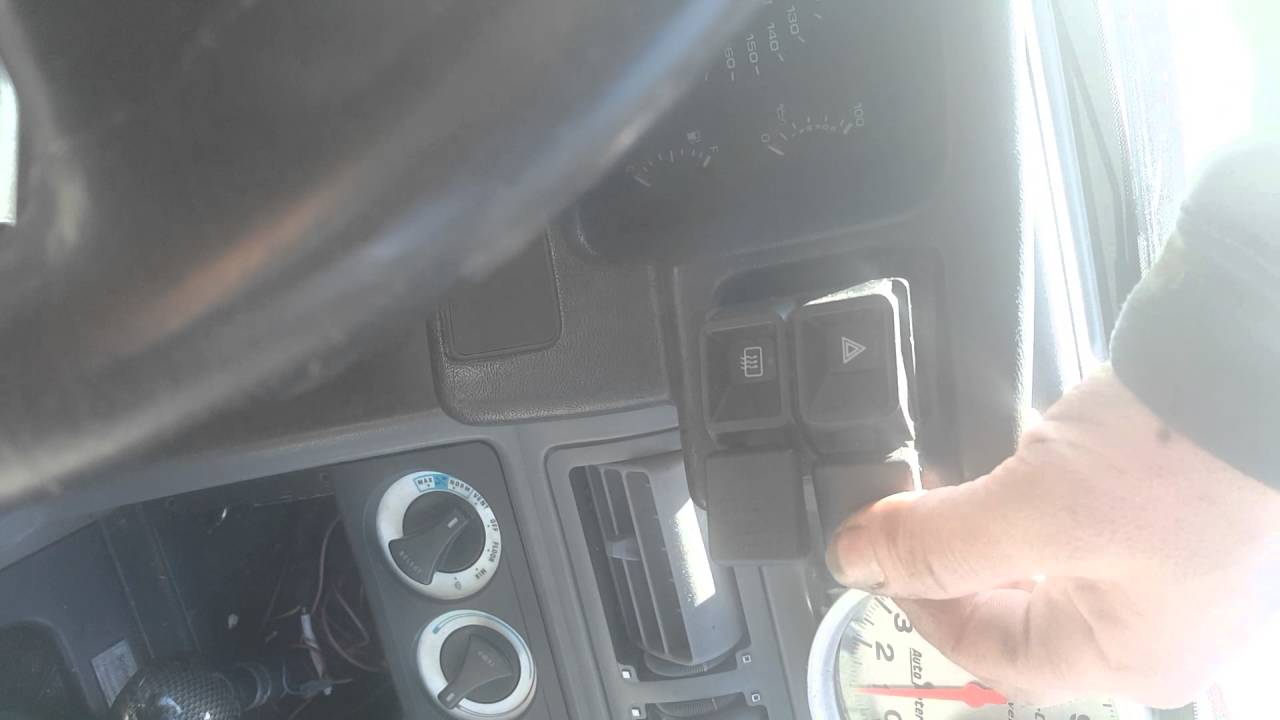 88 Mustang No Hazards Or Turn Signals Youtube 1992 Hazard Switch Wiring Diagram
