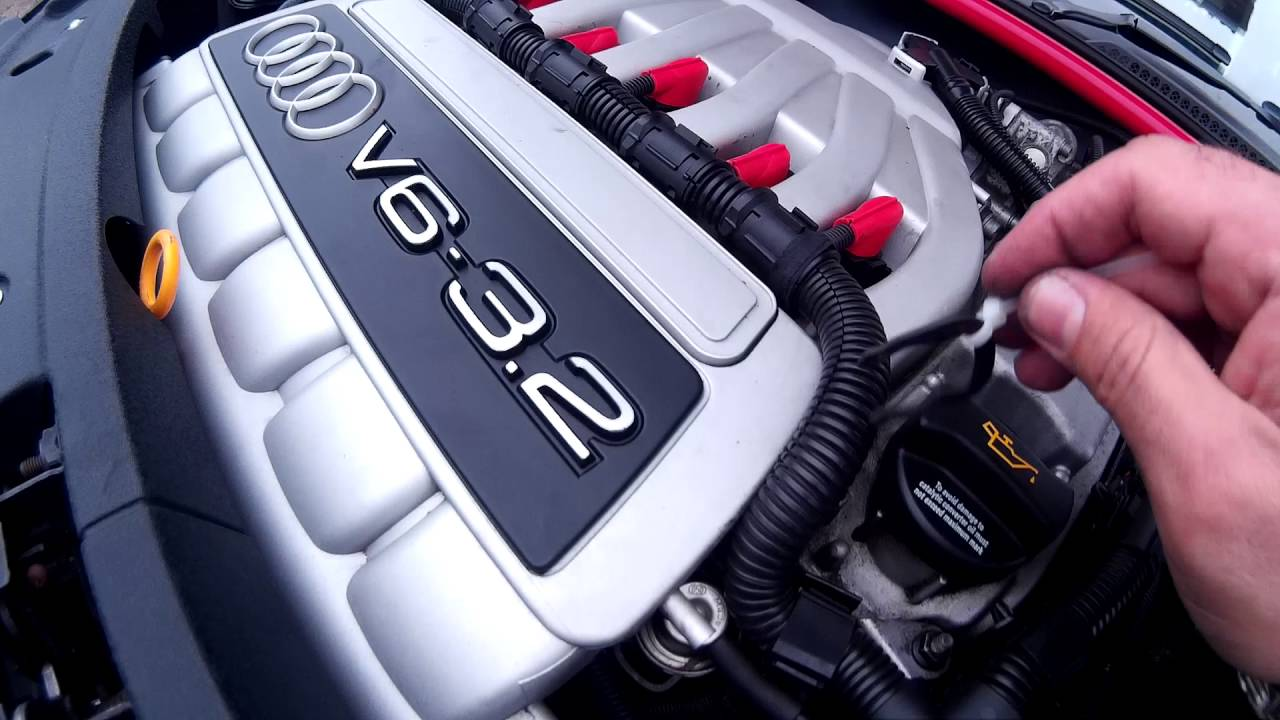Audi Tt Mk1 3 2 Coolant Temp Sensor Change Youtube