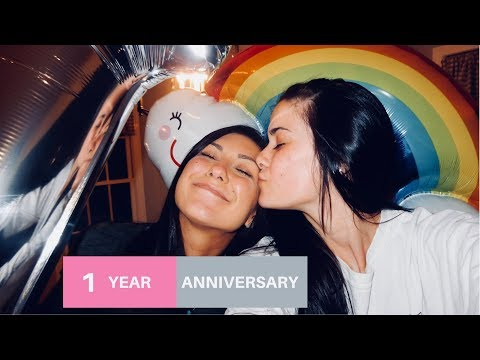 OUR 1 YEAR ANNIVERSARY VLOG