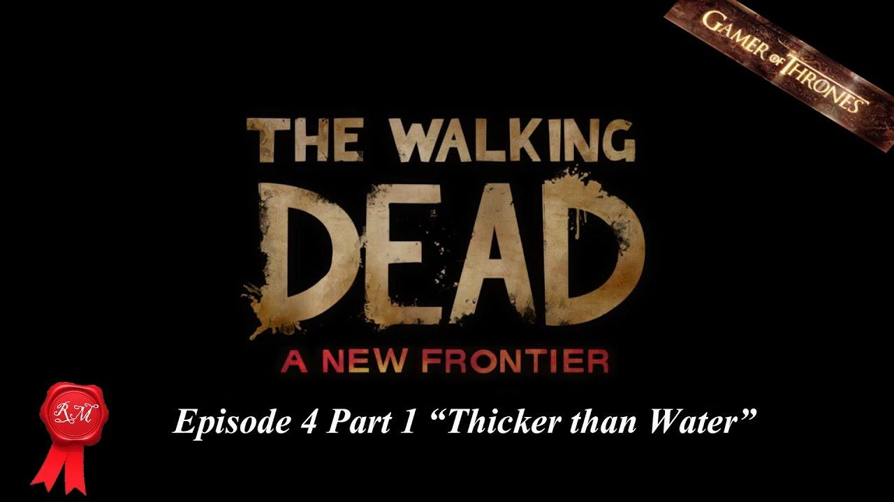 The walking dead telltale series season 3 episode 4 part 1 for H2o season 4 episode 1