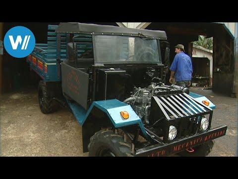 Amazonas: Autos Aus Schrott Bauen