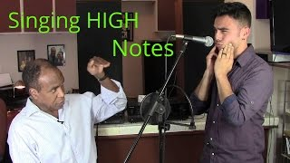 Voice Lesson - How To Sing High Notes - Extending Vocal Rang...