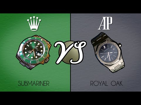 Comparing the Rolex Submariner with the Audemars Piguet Royal Oak
