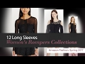 12 Long Sleeves Women's Rompers Collections Amazon Fashion, Spring 2017