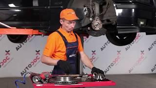 Installation Heckscheibenwischermotor hinten und vorne BMW 3 SERIES: Video-Handbuch