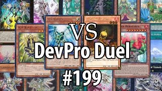 Yu-Gi-Oh! DevPro Duel #199 - Star Seraph Satellarknights (World Superstars) vs. Sylvans (April 2015)