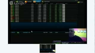 100% wins  Live FOREX Scalping Session today ON-AIR 2012-10-16 ON-AIR Best FOREX Trading Platform