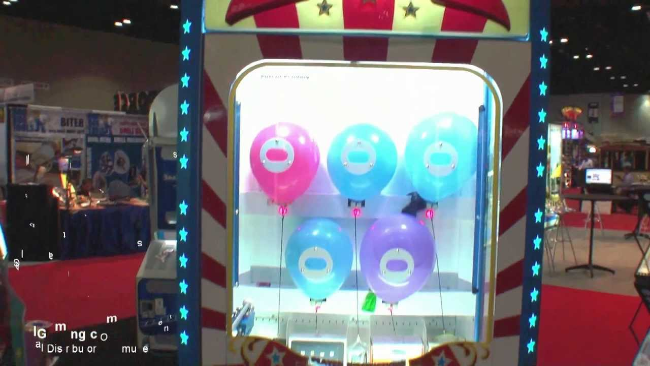 Balloon Buster – Prize Redemption Arcade Game – BOSA Bronze Medal 2013 – LAI Games