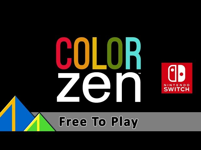 Color Zen - Nintendo Switch, Launch Trailer (free to play)