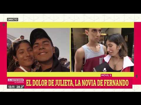 El DOLOR De La NOVIA Del Joven ASESINADO En VILLA GESELL - El Noti De La Gente