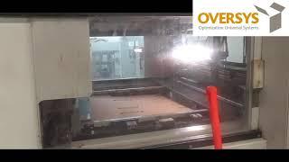 VIDEO OVERSYS U51531019 BOBST SPO 160 VISION FLAT BED DIE CUTTER WITH EASYLOADER AND BUNDLE BREAKER