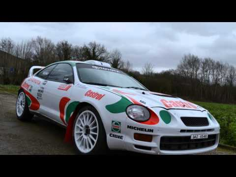 Livery adhesive Toyota Celica GT FOUR ST205 -TTE- 96'