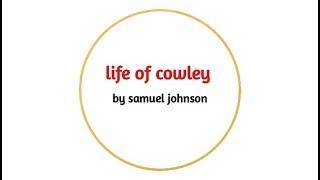 Download lagu life of cowley by samuel johnson summary in hindi MP3