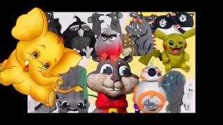 How many Famous Characters can you find in this video? Made by Granny B CKToysClub