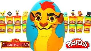Ovo Surpresa Gigante do Kion da Guarda do Leão em Português Brasil de Massinha Play Doh thumbnail