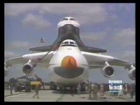 Antonov An-225 Mriya/Buran Shuttle NATO Code: Cossack