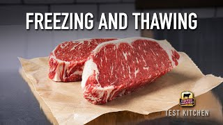 Freezing and Thawing Bęef 101 | How-To Tips from a Chef
