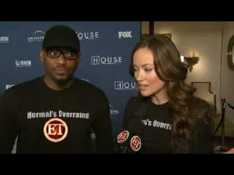"Olivia Wilde and House's Cast Interview - 100th Episode Party & NAMI Charity Celebration ""ET"""