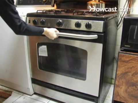 How to Clean a Conventional Oven with Store Brought Cleaner - YouTube