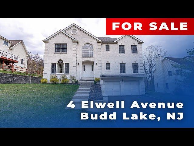 Cinemaflight property tours   4 Elwell Avenue, Budd Lake, NJ