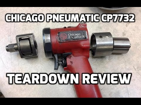 Teardown: Chicago Pneumatic CP7732 compact impact wrench review and autopsy