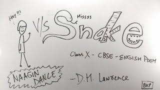 Hintçe yılan - ep01 - GEREK - CBSE Class 10 | İngilizce Şiir | D H Lawrence | Özet / açıklama