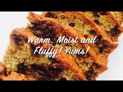 Moist Banana Chocolate Chip Bread Recipe