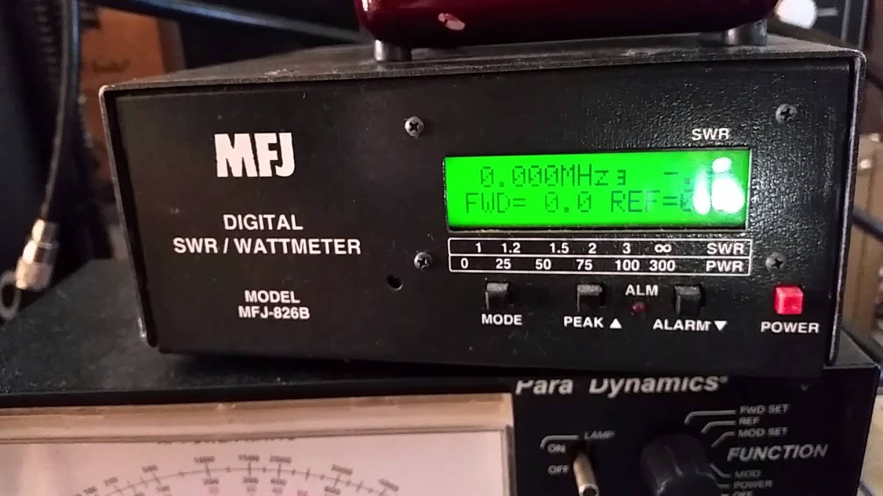 Gatekeepers Mfj Digital Watt Swr Freq Meter Ebay