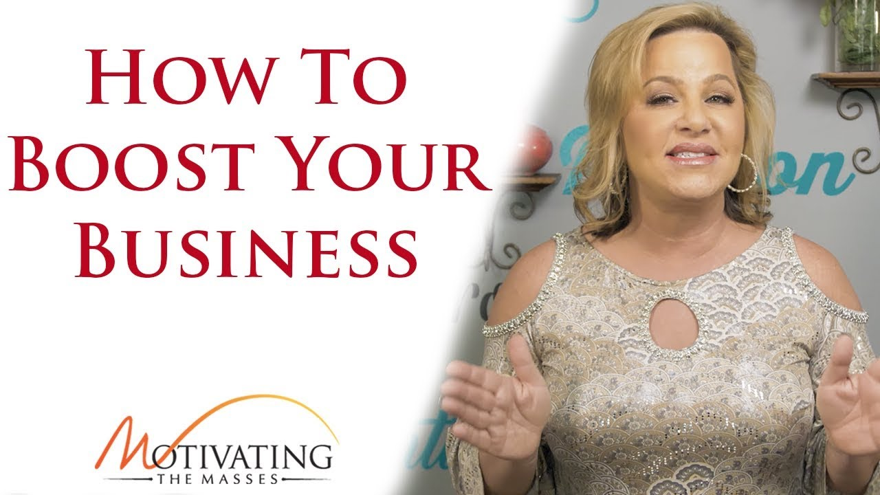 Susie Carder - How To Boost Your Business