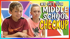 😱TIME FOR MIDDLE SCHOOL CHECKUP!😱 | We Are The Davises