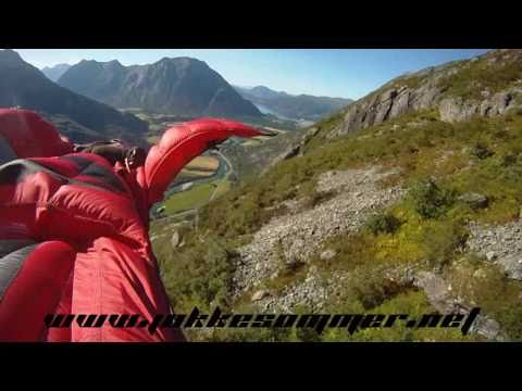 """Dream Lines - Part I"" Wingsuit Proximity Flying by Jokke Sommer"
