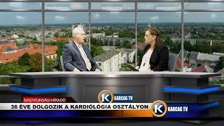 Stúdióbeszélgetés Dr Kanász Nagy László
