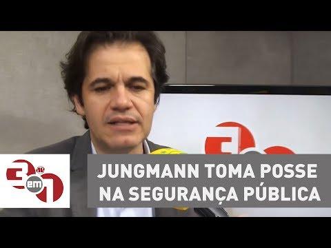 Jungmann Toma Posse Na Segurança Pública