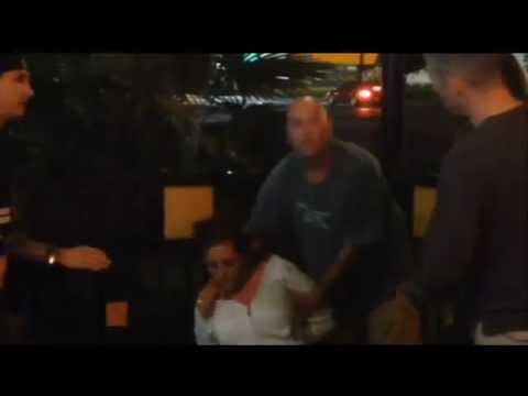 Cell phone video shows off-duty deputy attempt to arrest soldier at bar Part 2