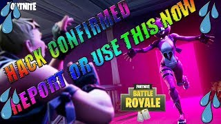 Hacker Confirm//Fortnite Battle Royale//Report or Use